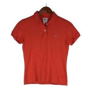 Lacoste Collar Button Casual Polo Pullover Shirt